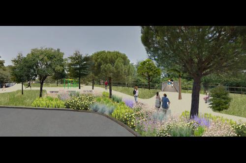 Transformer l'avenue de l'Europe pour en faire un parc sportif au coeur du quartier