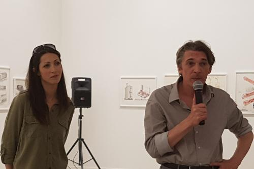 Sonia KERANGUEVEN et Nicolas BOURRIAUD aujourd'hui à La Panacée.