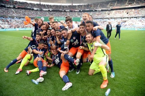 La victoire du MHSC à la Coupe Gambardella.Crédit photo - MHSC