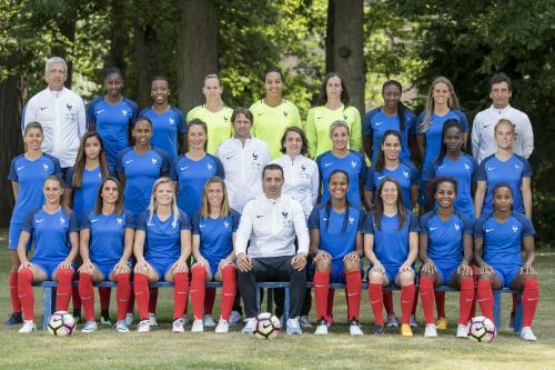 L'équipe de France pour l'Euro 2017 - Crédit photo : AFP / Martin Bureau