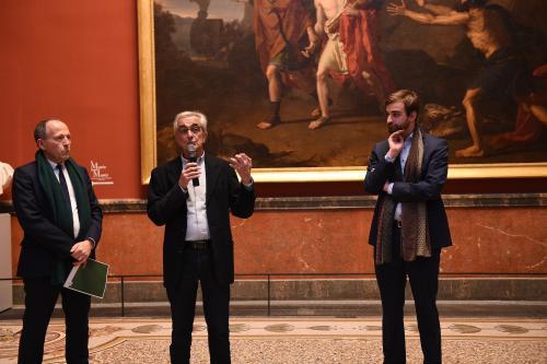 De gauche à droite : M. Hilaire, M. Travier et M. Stépanoff.Crédit photo : Cécile MARSON - Montpellier Méditerranée Métropole