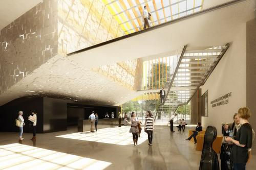 Visuel de synthèse: Architecture-Studio