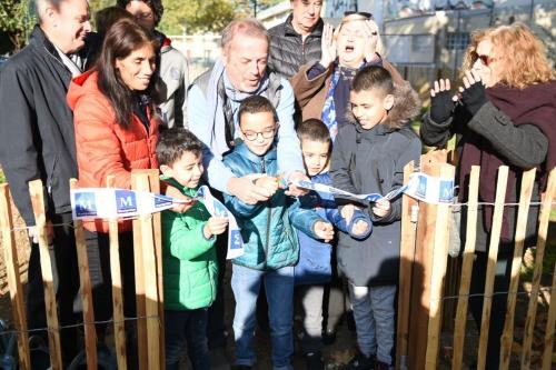 Inauguration du jardin partagé des Beaux-Arts - Crédit : Ville de Montpellier